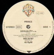 12'' - Prince - Sexuality / Controversy - Original