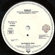 7inch Vinyl Single - Prince - Batdance - Solid Centre