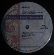 12inch Vinyl Single - Prince - Glam Slam