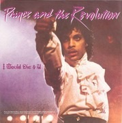 7'' - Prince And The Revolution - I Would Die 4 U / Another Lonely Christmas