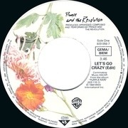 7'' - Prince And The Revolution - Let's Go Crazy