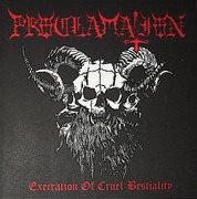 LP - Proclamation - Execration Of Cruel Bestiality