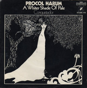 7inch Vinyl Single - Procol Harum - A Whiter Shade Of Pale