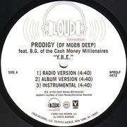 12'' - Prodigy - Y.B.E. (Young Black Entrepreneurs)