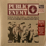 Double LP - Public Enemy - Power To The People And The Beats (Public Enemy's Greatest Hits) - Blood Red w/ Black Smoke Vinyl