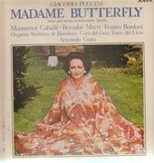LP - Puccini - A. Gatto - Madame Butterfly