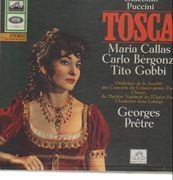 Double LP - Puccini - G. Prêtre - Tosca - Hardcoverbox + Booklet