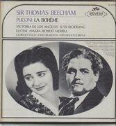 LP-Box - Puccini - Thomas Beecham ; Angeles , Björling , a.o. - La Bohème - Hardcoverbox + Booklet