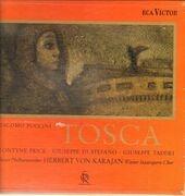 LP-Box - Puccini / Karajan, Wiener Philharmoniker, L. Price, G. Taddei, G. di StefANO - Tosca - booklet with libretto