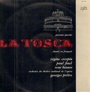 LP - Puccini - La Tosca Chanté En Francais