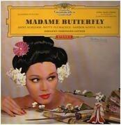 LP - Puccini - Madame Butterfly (Querschnitt in deutscher Sprache) - Red Stereo / Tulip Rim