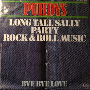 7inch Vinyl Single - Puhdys - Long Tall Sally/Party/Rock And Roll Musik / Bye Bye Love