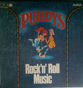 LP - Puhdys - Puhdys 2: Rock'N'Roll Music