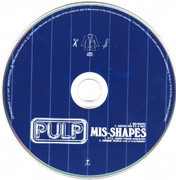 CD Single - Pulp - Mis-Shapes & Sorted For E's & Wizz - CD1