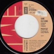 7'' - Pussycat - Same Old Song