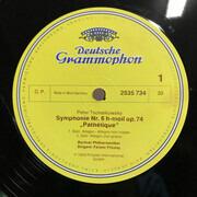 LP - Pyotr Ilyich Tchaikovsky - Berliner Philharmoniker , Ferenc Fricsay - Symphonie Nr. 6 H-Moll Op.74 (Pathétique)