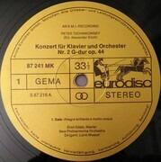LP - Pyotr Ilyich Tchaikovsky - Emil Gilels , New Philharmonia Orchestra , Lorin Maazel - Klavier-Konzert Nr. 2 G-dur op. 44