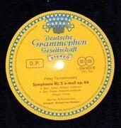 LP-Box - Tchaikovsky (Karajan) - Symphonies 4-6 / Piano Concerto Nr. 1 / Violin Concerto / 1812 Overture a.o. - Tulip rim / textured Hardcoverbox + booklet
