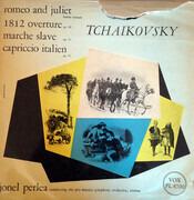 LP - Pyotr Ilyich Tchaikovsky - Jonel Perlea Conducting Vienna Pro Musica Orchestra - Romeo And Juliet / 1812 Overture / Marche Slave / Capriccio Italien