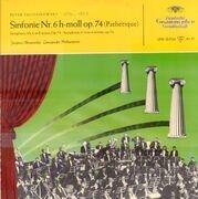 LP - Pyotr Ilyich Tchaikovsky - Leningrad Philharmonic Orchestra , Evgeny Mravinsky - Symphonie Nr.6 »Pathétique«