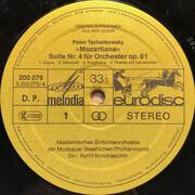 LP - Tschaikowsky - Mozartiana Orchestersuite Op.61 / Rokoko-Variationen Für Violoncello Und Orchester