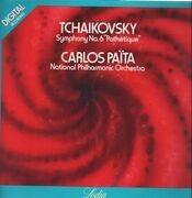 LP - Tchaikovsky - National Philharmonic Orchestra (Carlos Païta) - Symphony No.6 'Pathétique' - Gatefold / Digital