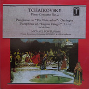 LP - Pyotr Ilyich Tchaikovsky - Percy Grainger , Franz Liszt , Michael Ponti , The Prague Symphony Orche - Piano Concerto No. 2 - Paraphrase On 'The Nutcracker' / Paraphrase On 'Eugene Onegin' For Solo Piano