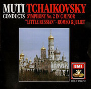 CD - Pyotr Ilyich Tchaikovsky - Symphony No. 2 in C minor, Romeo and Juliet Overture