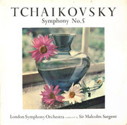 LP - Pyotr Ilyich Tchaikovsky - The London Symphony Orchestra Conducted By Sir Malcolm Sargent - Symphony No. 5