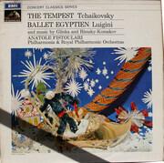 LP - Pyotr Ilyich Tchaikovsky , Alexandre Luigini - Tchaikovsky: The Tempest / Luigini: Ballet Egyptien