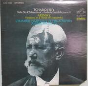 LP - Pyotr Ilyich Tchaikovsky , Anton Stepanovich Arensky , Chamber Symphony Of Philadelphia , Anshel Br - Tchaikovsky—  Suite No. 4 'Mozartiana' / Andante Cantabile (from Op. 11) - Arensky—  Variations On A Theme Of Tchaikovsky, 0p. 35a