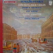 LP - Pyotr Ilyich Tchaikovsky , Arthur Grumiaux , New Philharmonia Orchestra , Jan Krenz , Concertgebouw - Concerto Pour Violon - Casse-Noisette, Suite N°1