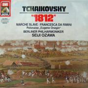 LP - Tchaikovsky (Ozawa) - '1812' / Marche Slave / Francesca Da Rimini a.o. - DMM