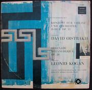 LP - Pyotr Ilyich Tchaikovsky , David Oistrach , Leonid Kogan , Russian State Symphony Orchestra , Kiril - Konzert Für Violine Und Orchester D-Dur Op.35 / Sérenade Mélancolique Op.26