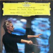 LP - Pyotr Ilyich Tchaikovsky , Don Kosaken Chor Serge Jaroff , Berliner Philharmoniker , Herbert von Ka - Ouverture 1812 • Marche Slave • Romeo Und Julia - GY7