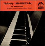 LP - Tchaikovsky / Liszt - Piano Concerto No. 1 / Hungarian Fantasia - Mono