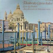 LP - Tchaikovsky / Liszt - Caprice Italien / Les Préludes - Mono
