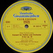 LP - Pyotr Ilyich Tchaikovsky , Gidon Kremer , Berliner Philharmoniker , Lorin Maazel - Violinkonzert, Sérénade Mélancolique