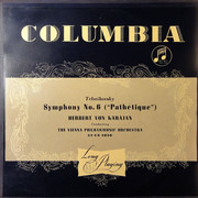 LP - Pyotr Ilyich Tchaikovsky , Herbert von Karajan Conducting Wiener Philharmoniker - Symphony No. 6 ('Pathétique')