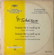 Double LP - Tchaikovsky - Sinfonie Nr. 4 F-Moll Op. 36 / Sinfonie Nr. 5 E-Moll Op. 64