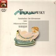 LP - Tchaikovsky - Der Schwanensee Op.20  (Ballettsuite), Dornröschen Op.66 (Ballettsuite) - DMM