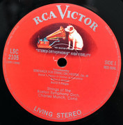LP - Pyotr Ilyich Tchaikovsky , Sir Edward Elgar , Charles Munch , Boston Symphony Orchestra - Serenade For Strings