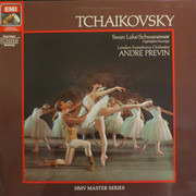 LP - Tchaikovsky (Previn) - Swan Lake (Highlights) - DMM