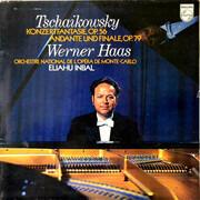 LP - Pyotr Ilyich Tchaikovsky , Werner Haas , Eliahu Inbal - Konzertfantasie Op. 56, Andante Und Finale Op. 79