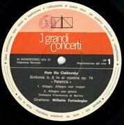 LP - Pyotr Ilyich Tchaikovsky , Wilhelm Furtwängler - Sinfonia N. 6 'Patetica'