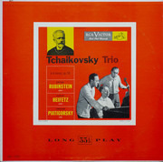 LP - Pyotr Ilyich Tchaikovsky / Arthur Rubinstein , Jascha Heifetz , Gregor Piatigorsky - Trio In A Minor, Op. 50