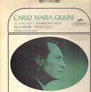 LP - Pyotr Ilyich Tchaikovsky / Carlo Maria Giulini , Philharmonia Orchestra - Symphony No.6 In B Minor, Op.74 'Pathetique'
