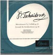 LP - Pyotr Ilyich Tchaikovsky / Jakob Gimpel , Berliner Symphoniker , Siegfried Borries , Otto Matzerath - Klavierkonzert Nr. 1 B-Moll Op. 23 / Serenade Für Streichorchester Op. 48