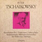 LP-Box - Pyotr Ilyich Tchaikovsky - Klavierkonzert Nr. 1 / Violinkonzert / Capriccio Italien / Streicherserenade / Ballettsuiten: Dornröschen / Der Nüssknacker / Pathétique - 2 page booklet