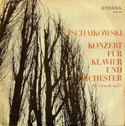 LP - Tchaikovsky - Klavierkonzert Nr. 1 - black labels